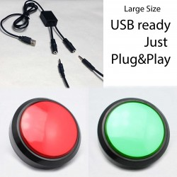 USB Push Buttons - Photo Booth Style