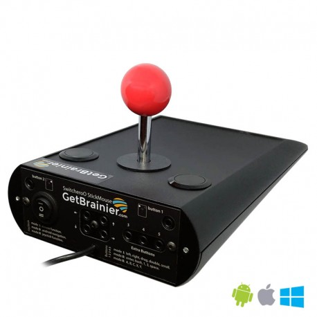 SwitcheroO StickMouse Joystick Mouse android AAC Switch Adapted www.GetBrainier.com